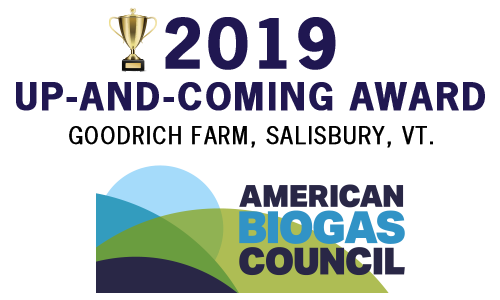 American Biogas Council 2019 Up and Coming Award