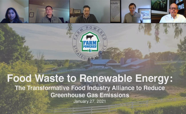 Food Waste to Renewable Energy Webinar