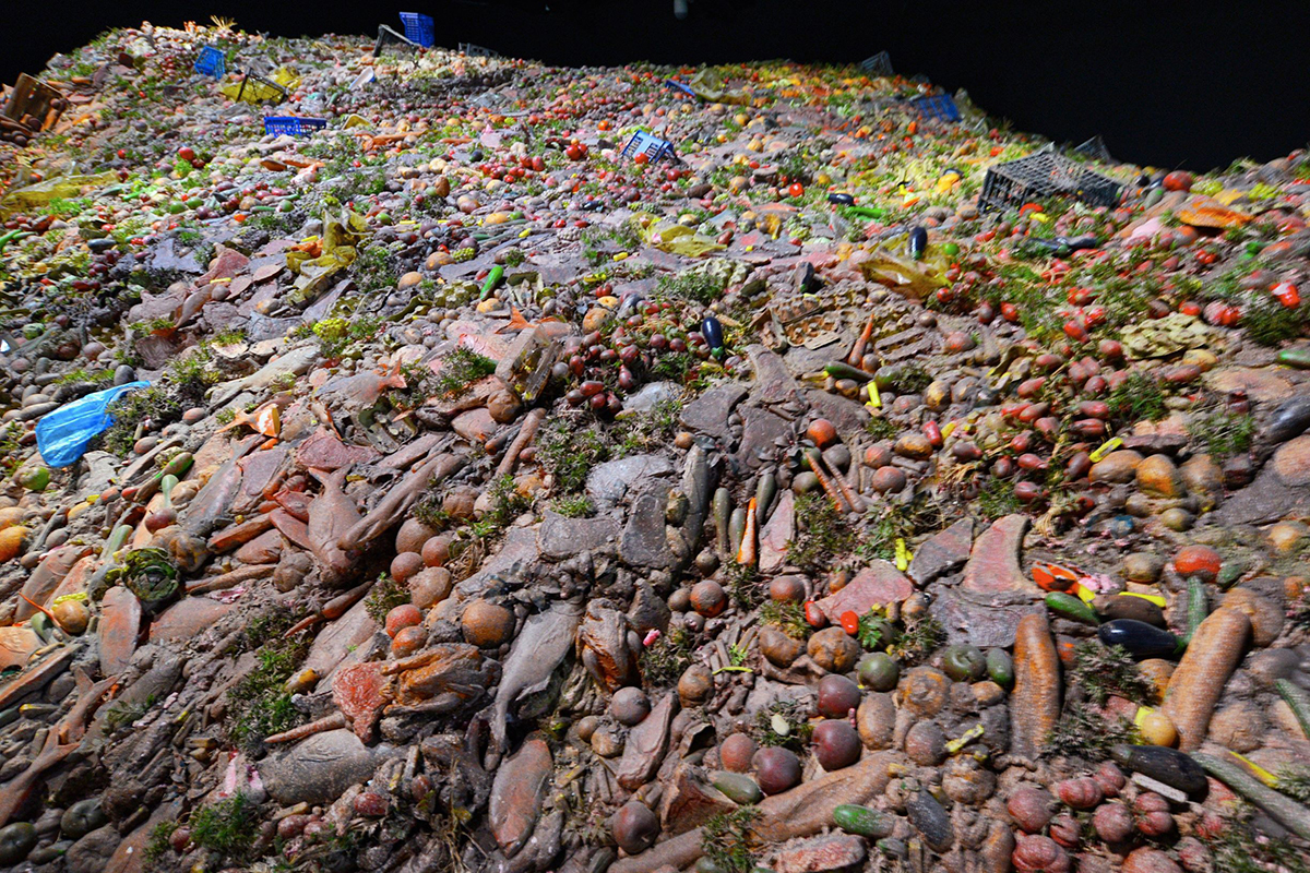 Mountain of Food Waste